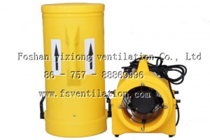 Portable Plastic ventilation Fan (2)
