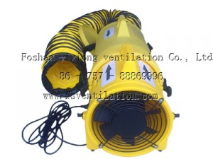 Portable Plastic ventilation Fan (5)
