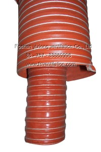 Silicone tube red